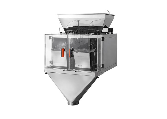 304SUS Rice Double Head Linear Weigher