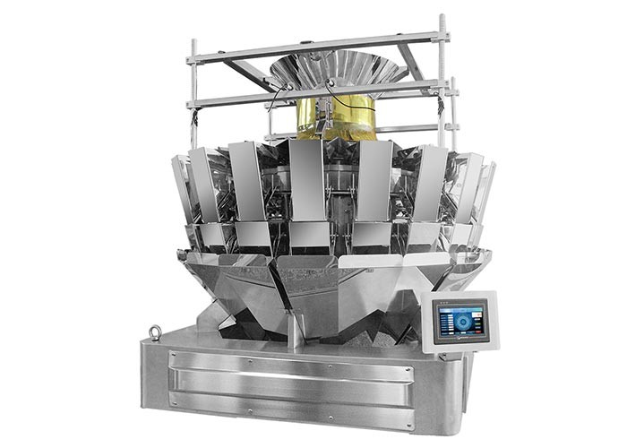 Mixed Dry Fruit 1.6L PLC Fruit Multihead Weigher